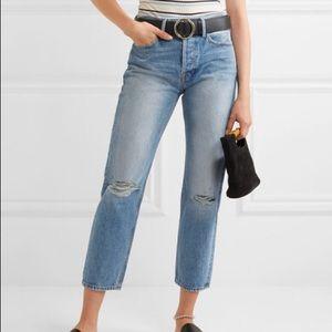 Frame Re Release Le Original Jeans Distressed Crop